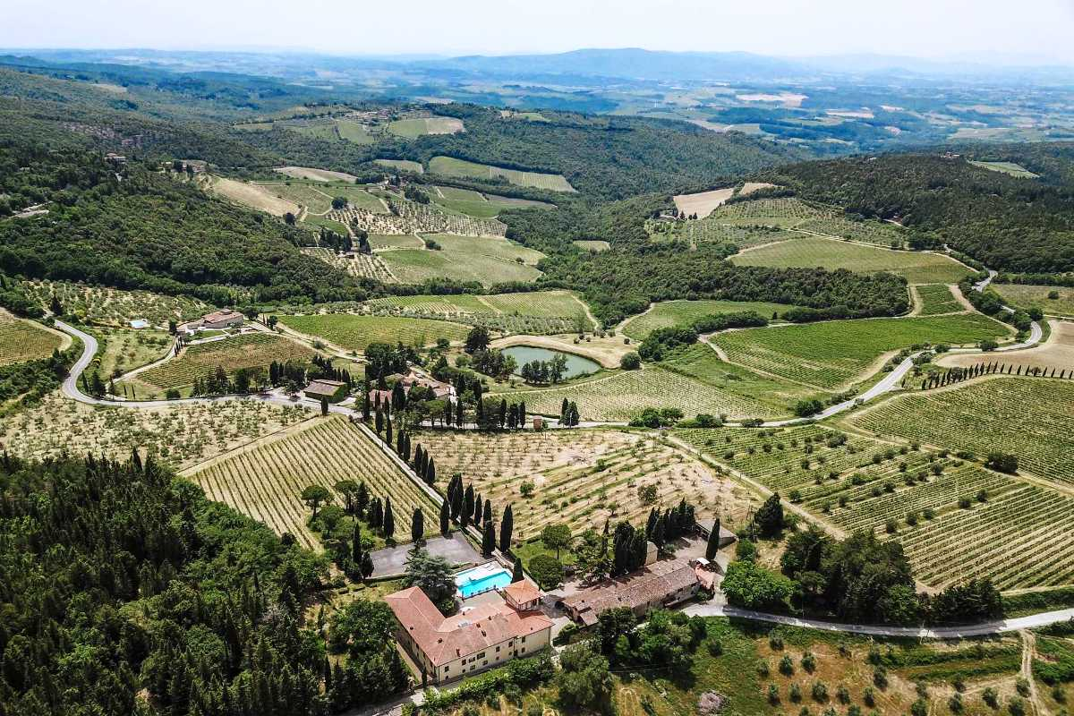LUXURY HISTORIC VILLA FOR SALE, CHIANTI, TUSCANY