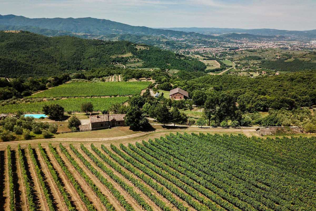 LUXURY VILLA WITH VINEYARDS AND AGRITURISMO FOR SALE, TUSCANY